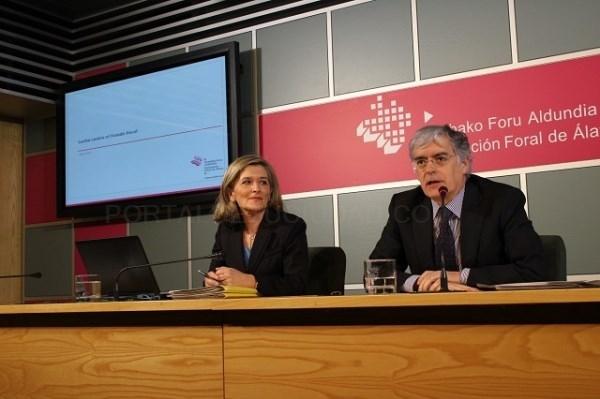 La Hacienda Foral de Álava detectó 2,6 millones de euros sin declarar en el extranjero