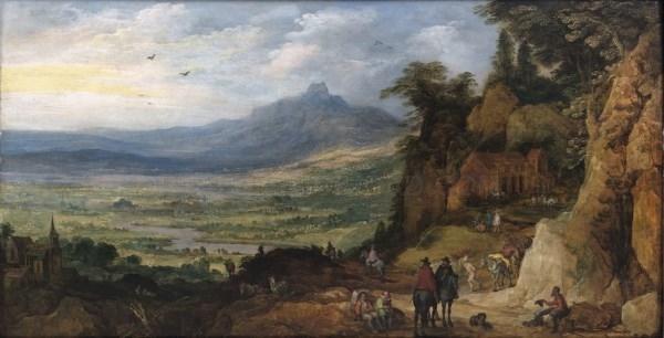 Tres siglos de pintura flamenca desde Rubens a Van Dyck