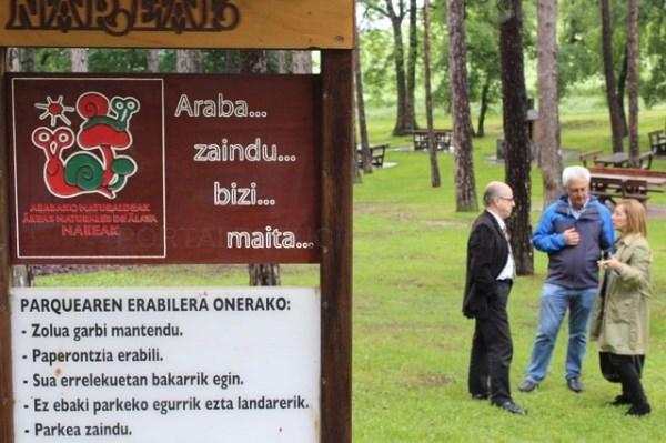 PARQUES FORALES /ARGAZKIA: ARABAPRESS.EUS
