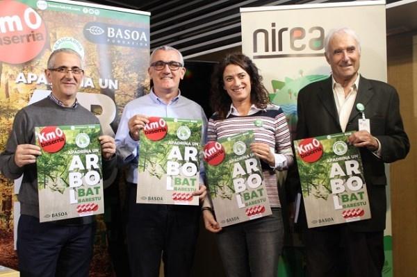 'Apadrina un árbol' un proyecto solidario de plantación de árboles