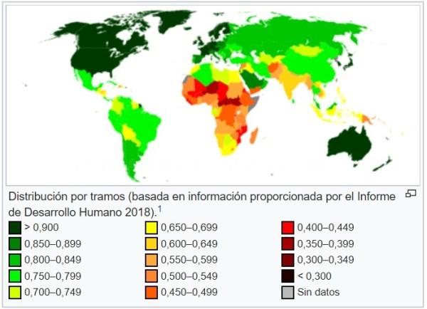 Euskadi se mantiene en entre los quince primeros países según el Índice de Desarrollo Humano