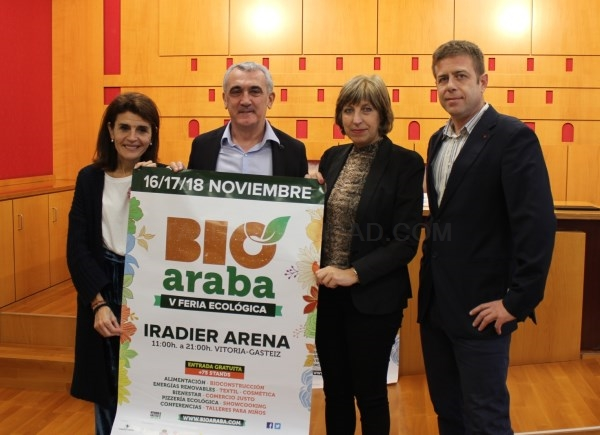 Más de 70 expositores ecológicos se darán cita en la Feria BIOARABA