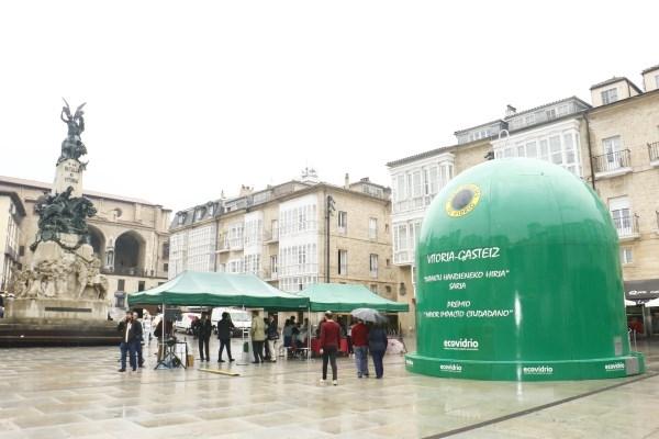 Nueva distinción medioambiental para Vitoria-Gasteiz: 'Mayor Impacto Ciudadano'