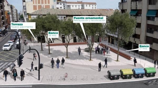 """ADJUDICADAS LAS OBRAS PARA MODERNIZAR LA """"PLAZA DE LOS GUARDIAS"""""""