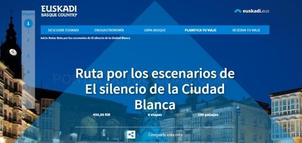 """PRESENTADAS LAS RUTAS DE """"EL SILENCIO DE LA CIUDAD BLANCA"""""""