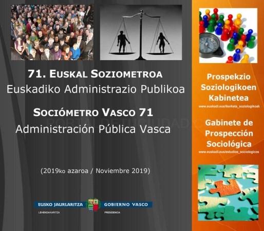 La ciudadanía vasca valora positivamente sus servicios públicos
