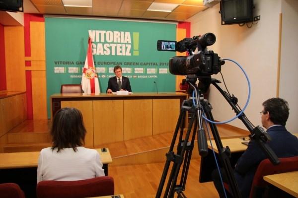 RUEDA DE PRENSA DEL ALCALDE / ARGAZKIA: VITORIA-GASTEIZ.ORG