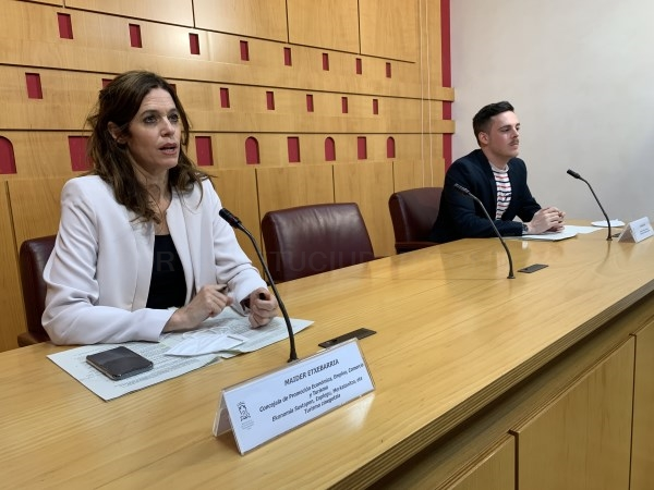 MAIDER ETXEBARRIA EN LA PRESENTACIóN DEL PLAN /ARGAZKIA: VITORIA-GASTEIZ.ORG