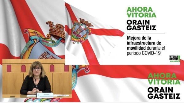 AMAIA BARREDO PRESENTA EL PLAN DE MOVILIDAD /ARGAZKIA: VITORIA-GASTEIZ.ORG