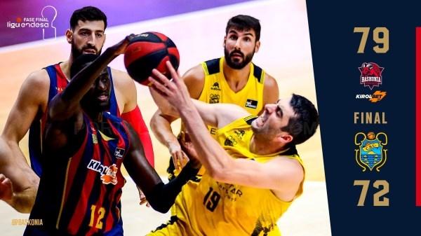 Nueva victoria del Baskonia en la fase final de la Liga Endesa