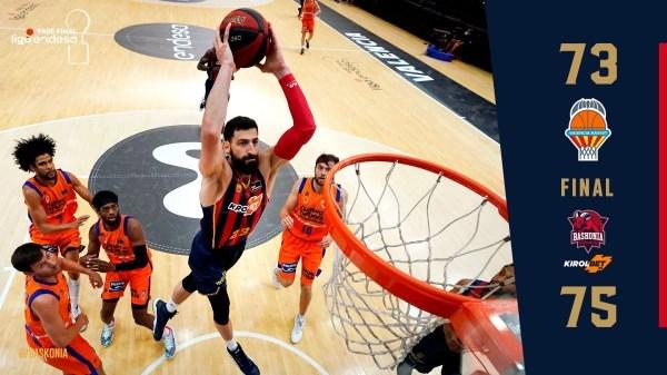El Baskonia a la final de la Liga