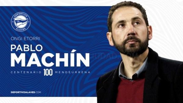 Pablo Machín nuevo entrenador del Deportivo Alavés