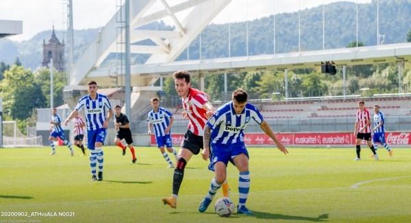 En el amistoso de la pre-temporada, el Alavés pierde ante el Athletic en Lezama