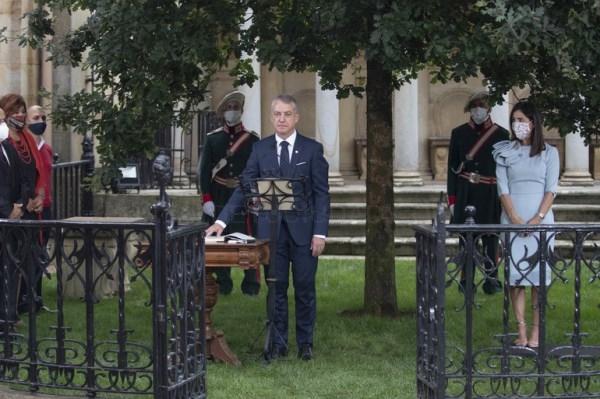 El Lehendakari Iñigo Urkullu ha jurado su cargo en Gernika