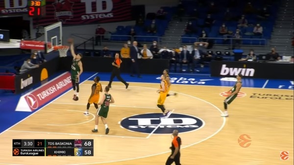 Segunda victoria del Baskonia en la EuroLeague