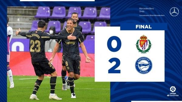 El Glorioso consigue tres valiosos puntos en Valladolid