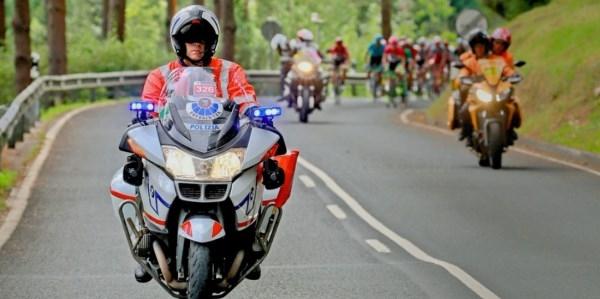 La etapa de La Vuelta Vitoria-Gasteiz-Villanueva de Valdegovía afectará al tráfico en Araba