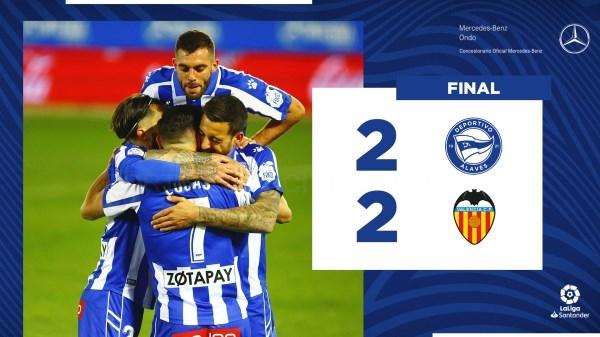 El Glorioso suma un nuevo punto ante el Valencia en Mendizorrotza
