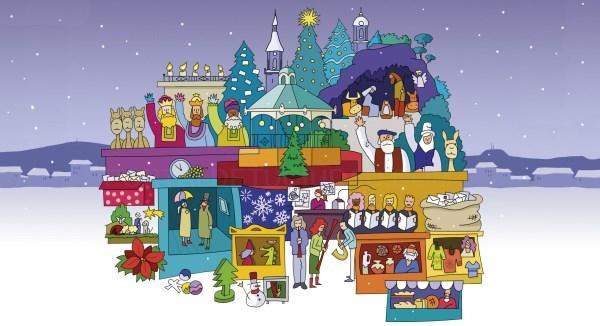 Los Reyes Magos, Olentzero y Mari Domingi estarán presentes estas Navidades en Vitoria-Gasteiz