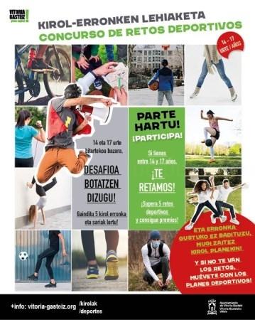 Kirolerronkak, concurso de retos deportivos para jóvenes