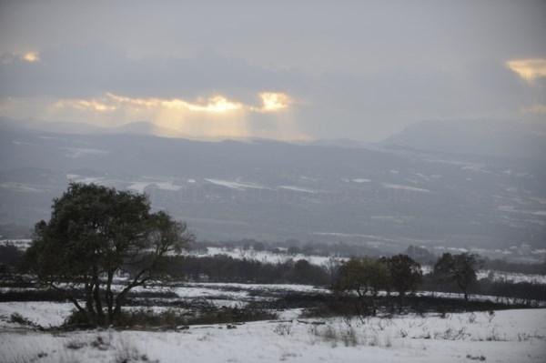 Activada para mañana sábado, 2 de enero, la alerta naranja por nieve