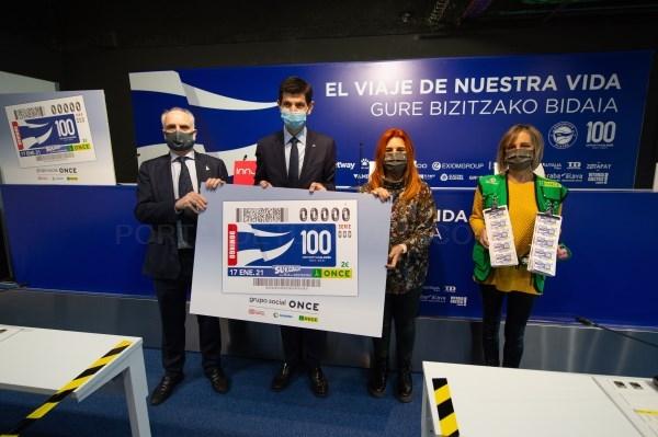 Deportivo Alavés-en ehunurteurrena ONCEren kupoian