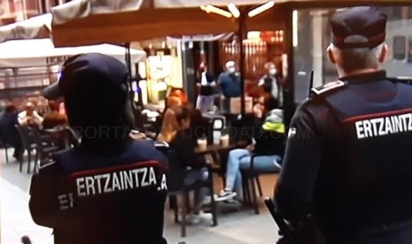 La Ertzaintza abre 735 actas por incumplimiento las medidas contra la Covid-19