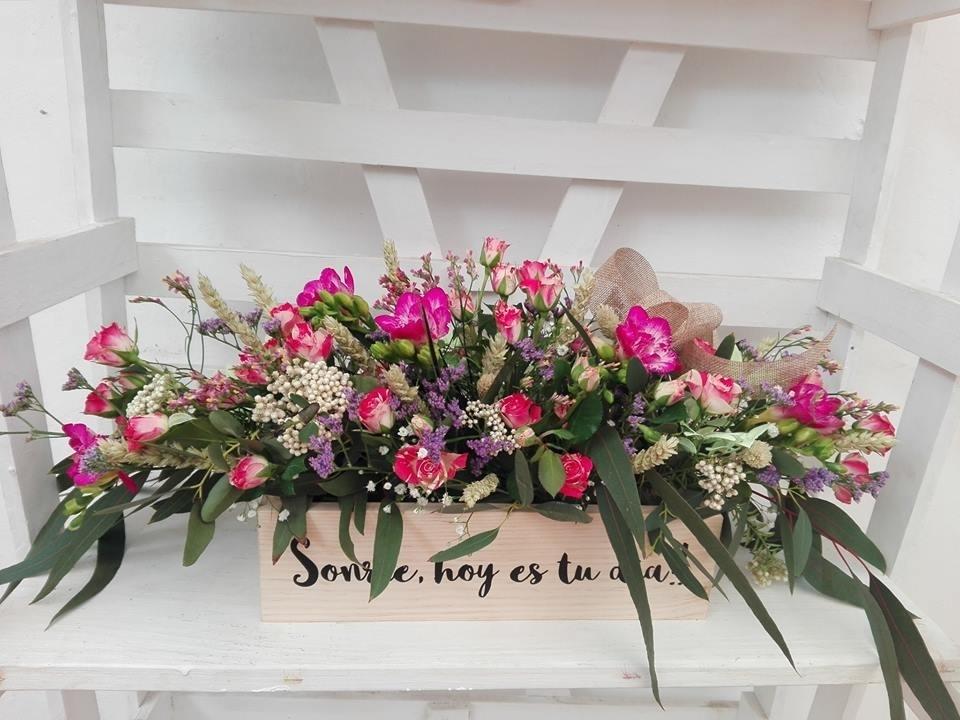 Flores con mensajes personalizados