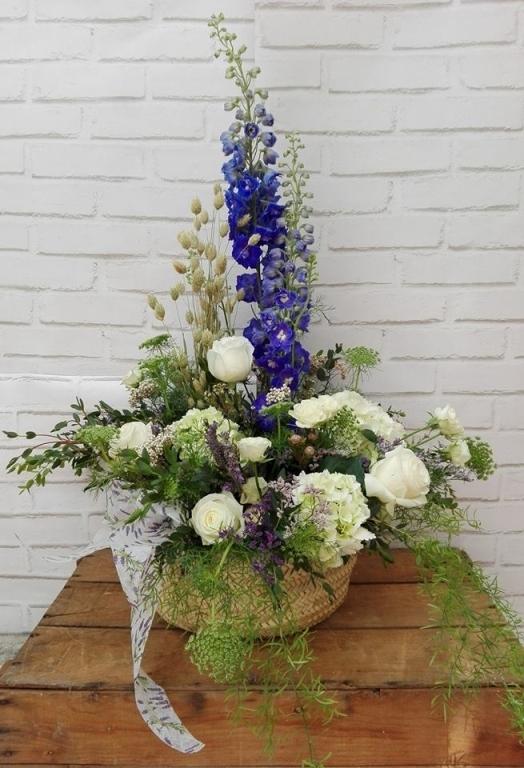 floristerías con encanto, centros de flores para bodas