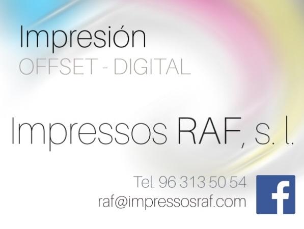 Impresos Raf - Imprentas en Xirivella