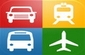 Autobuses, trenes y taxis