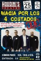 """Enigma Park presenta el espectáculo """"Magia por los 4 costados 2.0"""""""