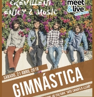 "CREVILLENT ENJOY & MUSIC PRESENTA: ""GIMNÁSTICA LIVE"""