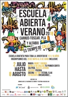 Es tiempo de calle…¡¡¡ Vuelven las Escuelas de Verano de Carrús-Toscar, Pla-Sector V y, como novedad, en el Barrio de Altabix!!!