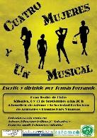 Cuatro mujeres y un musical, espectáculo de baile