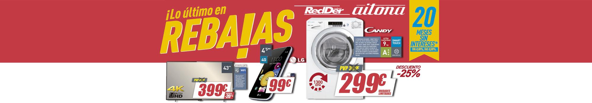 Reparaciones de electrodomésticos en Santa Pola, ofertas de electrodomésticos en elche