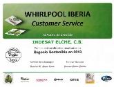 INDESAT Negocio Sostenible en 2013, Reparación Gama Blanca Alicante, Indesat electrodomésticos Elche