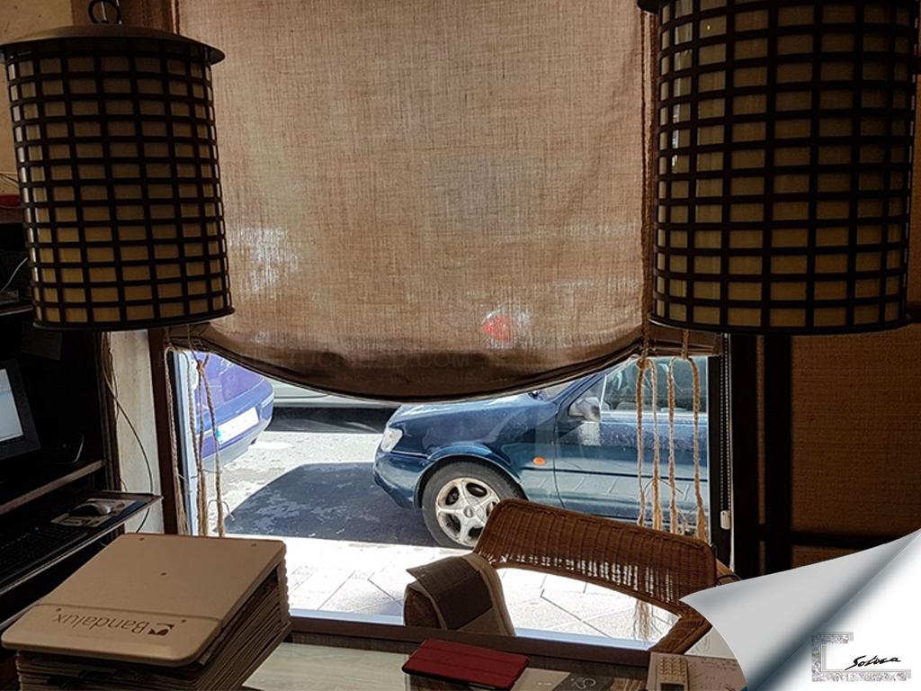 cortinas verticales en elche, cortinas técnicas en elche. cortinas verticales vega baja