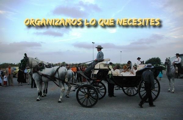Coche caballos bodas, Catering para bodas Martino, comidas y cenas de empresa, salón para bautizos