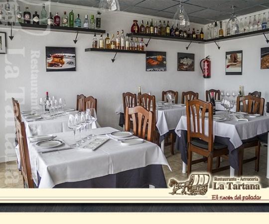 La Tartana Restaurante cerca del Aeropuerto de Alicante