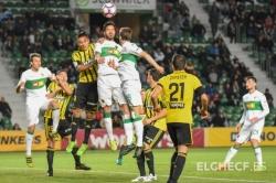 Dura derrota del Elche contra el Zaragoza, que ya ganaba 0-3 al descanso