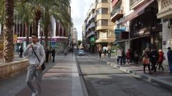 Se abre el debate sobre si hacer peatonal el centro de Elche