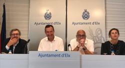 Carlos González felicitó a los dispositivos de emergencia por su trabajo durante las fiestas