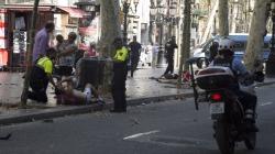 Un atentado terrorista provoca al menos 13 muertos en Barcelona