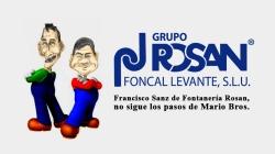Tras 29 años de profesión y dedicación a la fontanería, Francisco Sanz de Fontanería Rosan, no sigue los pasos de Mario Bros.