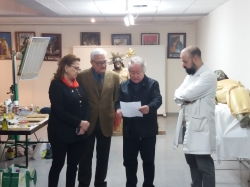 El Ayuntamiento de Crevillent y la Federación de Semana Santa celebran la culminación de los 3 años de trabajo sobre la restauración de 26 grupos escu