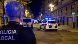 Cinco detenidos en la noche del 9 de octubre