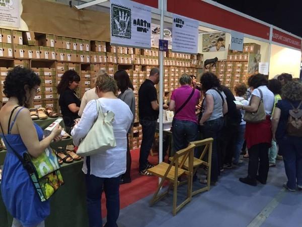 Gran éxito de Martín Natur en Biocultura Barcelona, la Feria de Productos Ecológicos y Consumo Responsable