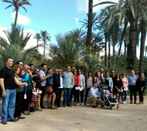RESTAURANTE MARTINO SIGUE PLANTANDO ILUSIONES CON SU PROYECTO DE REFORESTACIóN DEL PALMERAL: SEGUNDA PLANTá MARTINO