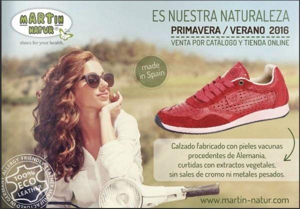 Martín Natur estrena su nueva colección de calzado ecológico con la misma filosofía